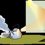 ejemplo de efecto fotoeléctrico
