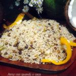 arroz con guandú