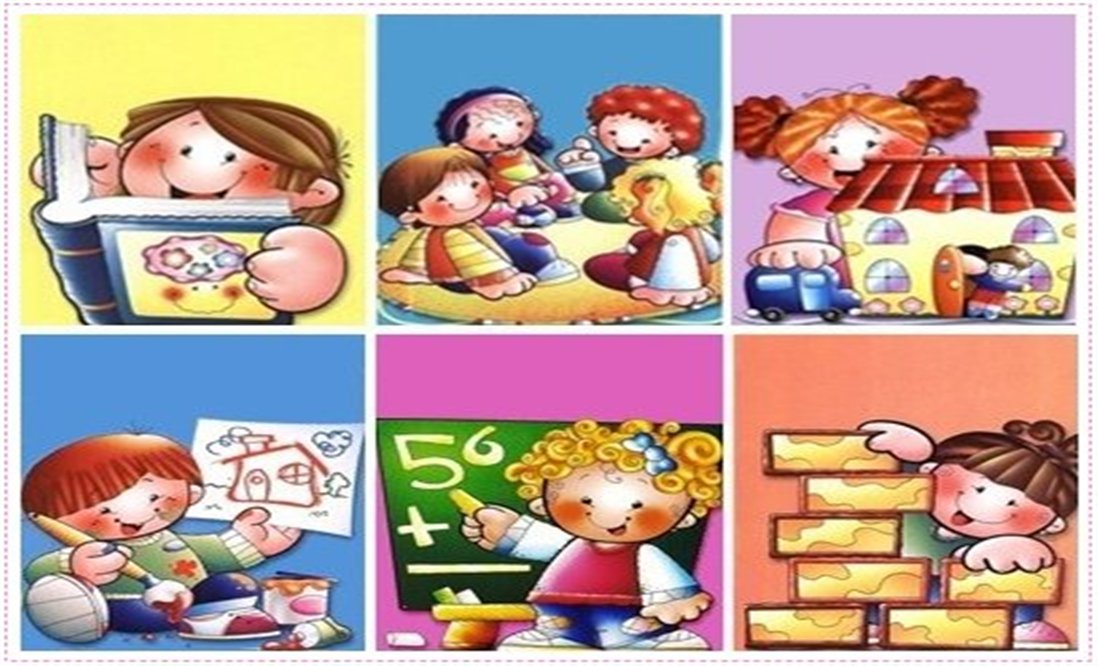 El jardin infantil y sus rincones webscolar for Adaptacion jardin infantil